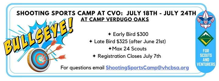 Shooting Sports Camp