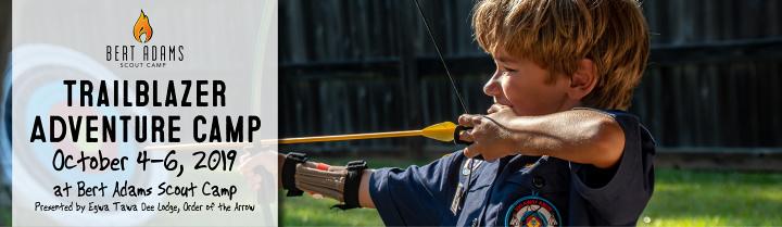 Trailblazer Adventure Weekend | Bert Adams Scout Camp | Atlanta Area