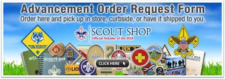 Online Advancment Orders