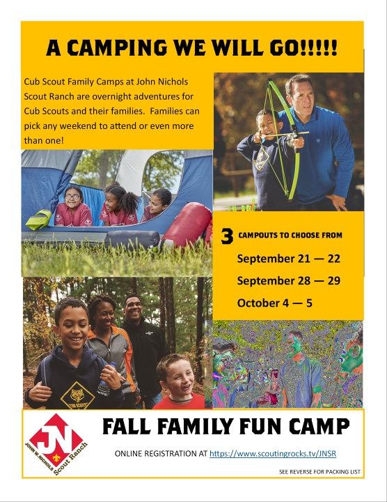 John Nichols Family Camp