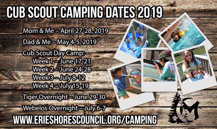 Erie Shores Council Cub Day Camp at Camp Miakonda | Erie Shores