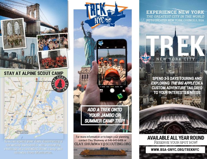 Camping: Trek NYC | Greater New York Councils