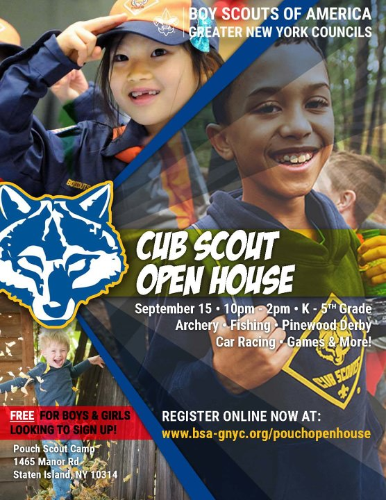 Pouch Open House | Alpine Scout Camp