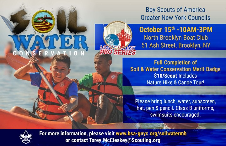 Soil Water Conservation Merit Badge Pro Series Greater