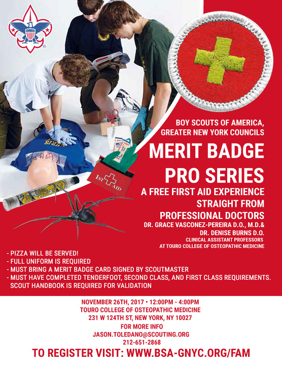 First Aid Merit Badge Pro Series Greater New York Councils