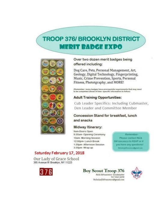 Brooklyn Merit Badge Expo Greater New York Councils