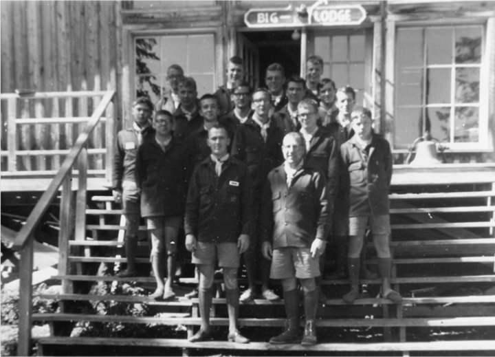 1964 Spirit Lake BSA Camp Staff