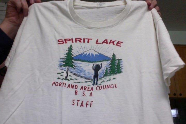 Spirit Lake Camp Staff Shirt