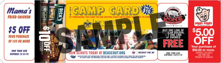 North Camp Card