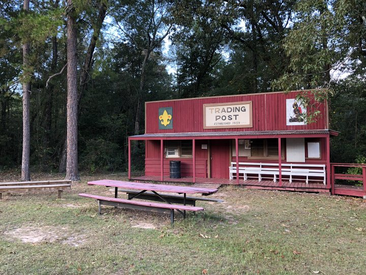 Trading Post at Camp Alaflo, Enterprise Alabama.