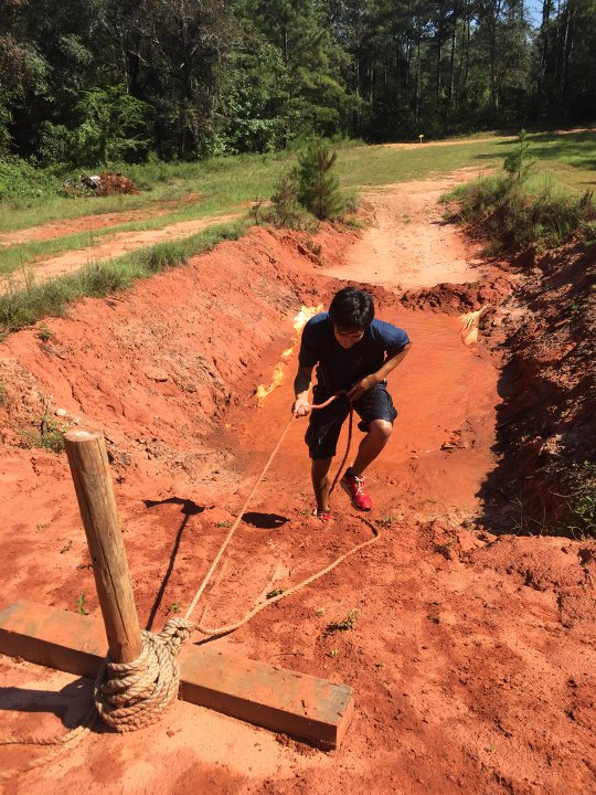 Mud Run at Camp Alaflo