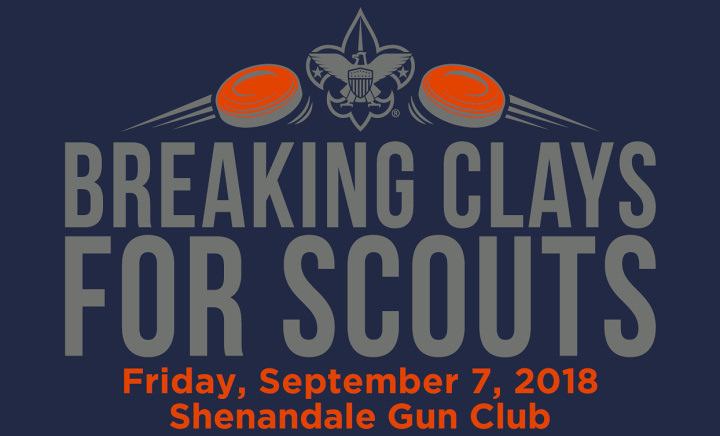 breaking clays for scouts