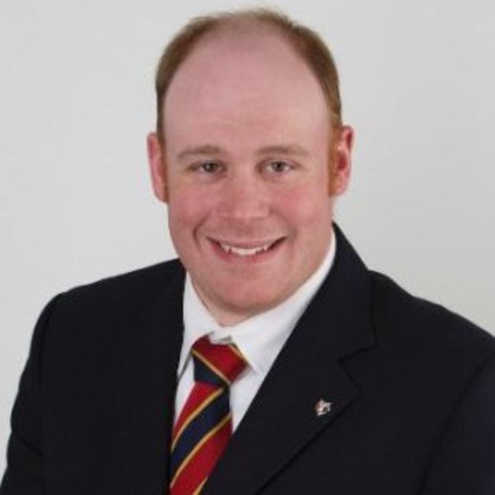 Hunter J McCormick, District Chairman