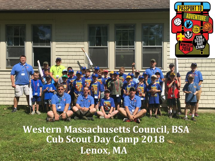 Cub Scout Day Camp - Lenox | Western Massachusetts Council