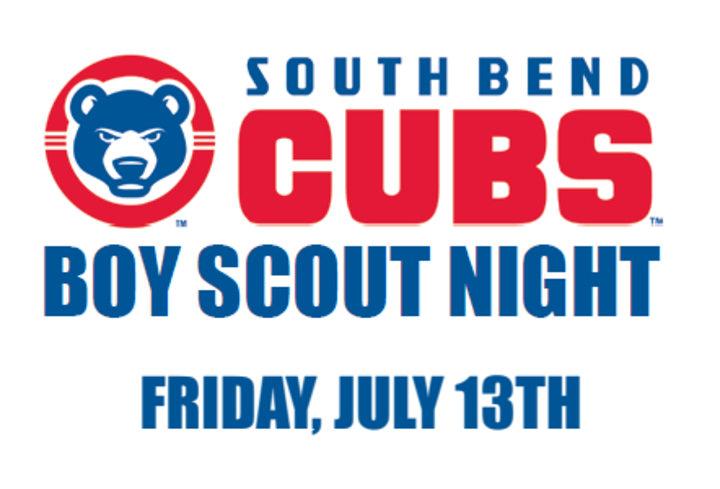 SB Cubs Boy Scout Night logo
