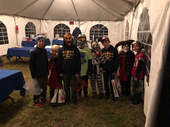 Webelos Woods Trick or Treating