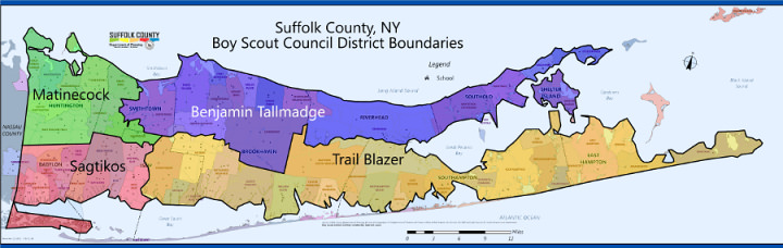 Districts | Suffolk County Council