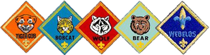 "MERIT ADVANCEMENT CUB SCOUT /""BEAR/"" RANK PATCH OFFICIAL BSA"