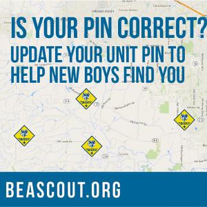 update unit pin banner