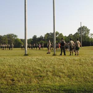 parade field