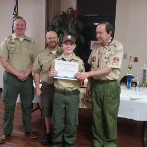 Noah Mitchell - Webelos Scout of the Year