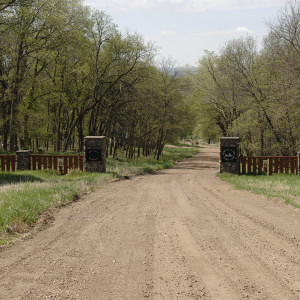 Lewis & Clark Scout Reservation Gate