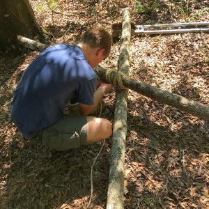 Lashings at Woodlore Camping School