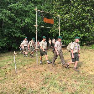 Gate at Woodlore Camping School