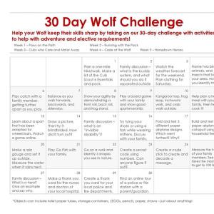 Wolf 30-Day Challenge