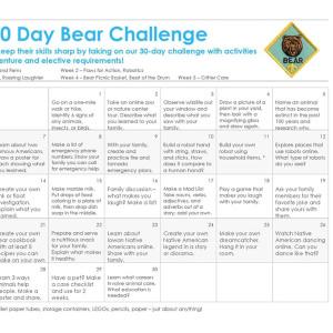 Bear 30-Day Challenge