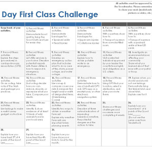 30 Day First Class Challenge