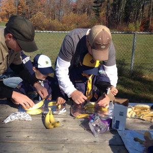 Cub Scout Fall Fun Day - Food Crafts