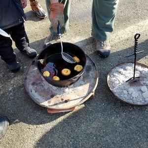 Yukon Daze Dutch Oven Donut Making