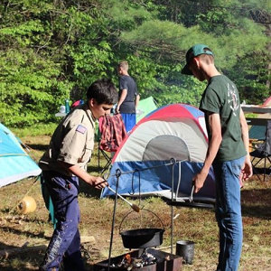 Spring Camporee Cooking