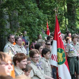 Troop 579 of Niles MI @ Camp Tamerack - c.2013