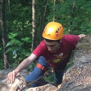 Boy Scout Climber