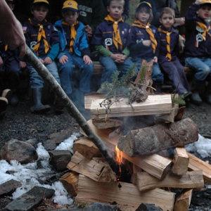 Cub Scout Campfire