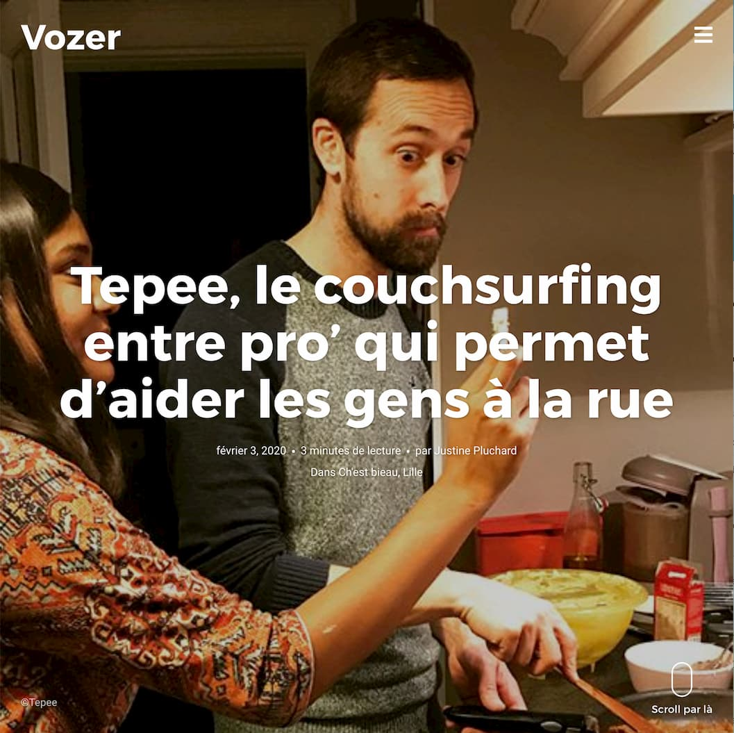 Tepee.pro on Vozer.fr