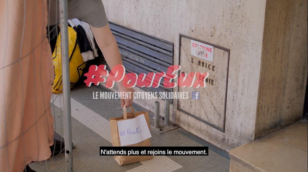 #PourEux : Aider les personnes à la rue, même quand on travaille à la maison