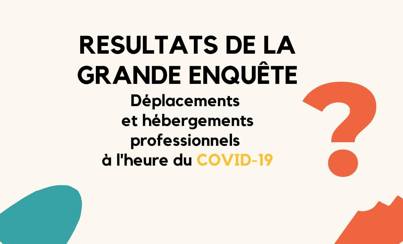 Résultats de l'enquête COVID-19