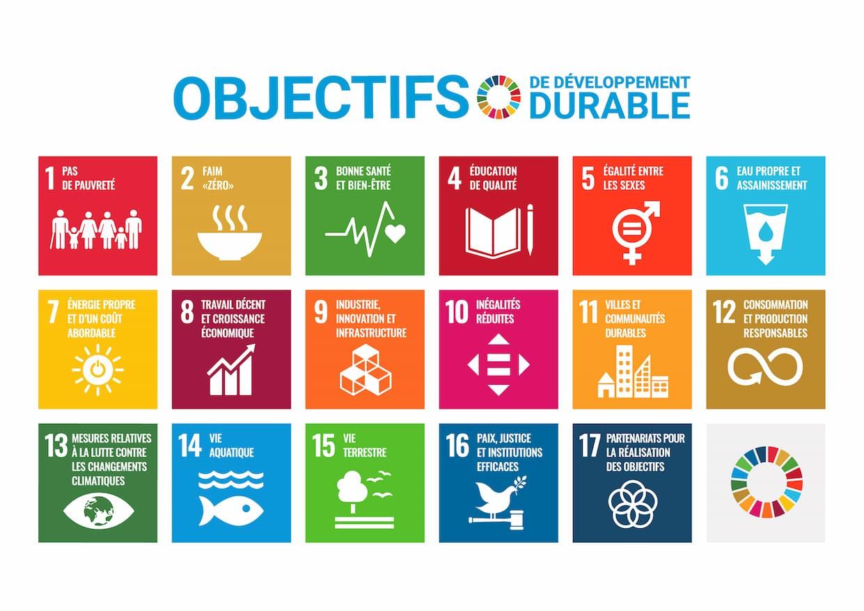 Objectifs de Développement Durable (ODD) de l'ONU