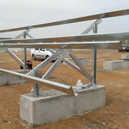 استراکچر پنل خورشیدی نیروگاهی