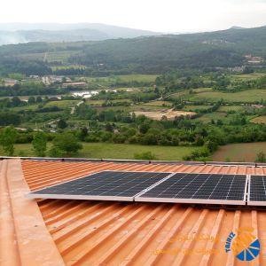 استراکچر خورشیدی سطح شیب دار