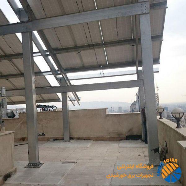 استراکچر چند طبقه نیروگاه خورشیدی