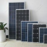 پنل خورشیدی 100 وات مونو کریستال هدایت نور
