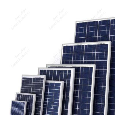 پنل خورشیدی 80 وات پلی کریستال هدایت نور