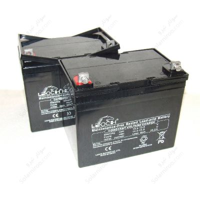 باتری سیلداسید لئوچ 104 امپر