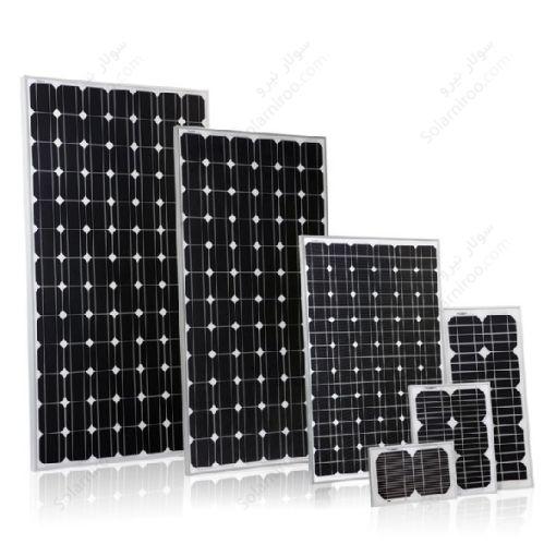 پنل خورشیدی 80 وات مونو کریستال هدایت نور