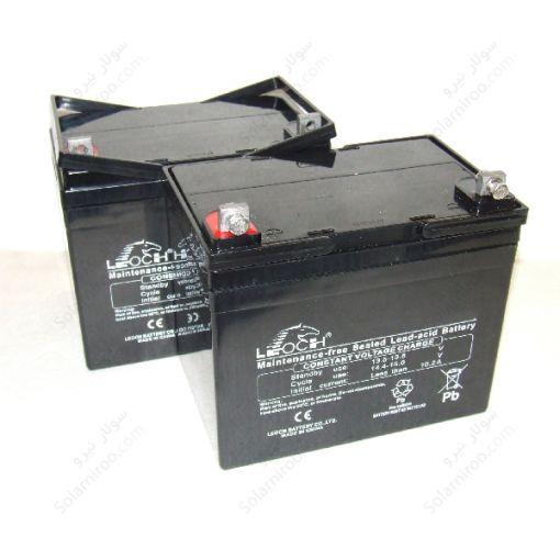 باتری سیلداسید لئوچ 25.5 امپر