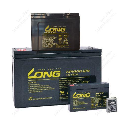 باتری 12 آمپر سیلد اسید لانگ